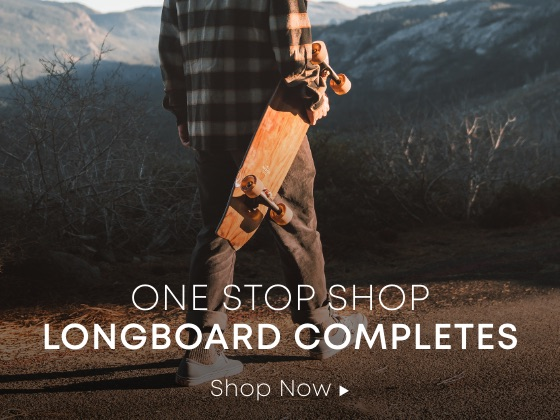 One Stop Shop. Longboard Completes.