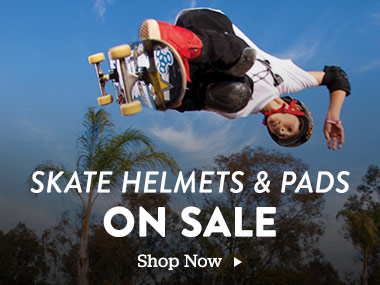 Skate Helmets and Pads On Sale. Shop Now.