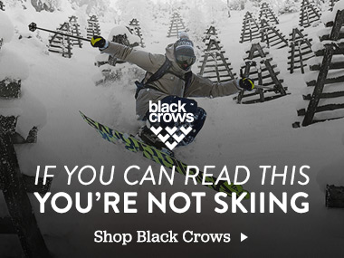 Black Crows. If you can read this youre not skiing. Shop Black Crows