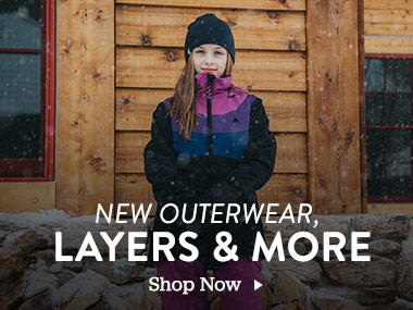 New Outerwear, Layers and More. Shop Now.