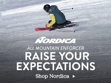 Nordica. All Mountain Enforcer. Raise Your Expectations. Shop Nordica.