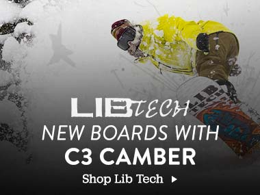 Lib Tech New Boards with C3 Camber. Shop Lib Tech.