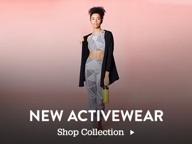 New Activewear. Shop Collection.