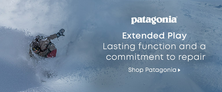 Patagonia. Extended Play. Lasting function and a commitment to repair. Shop Patagonia.