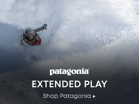 Patagonia. Extended Play. Shop Patagonia