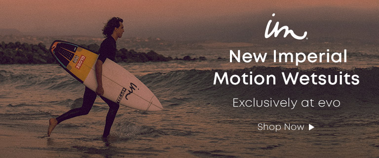 Imperial Motion. Exclusively at evo, New Imperial Motion Wetsuits. Shop Now.