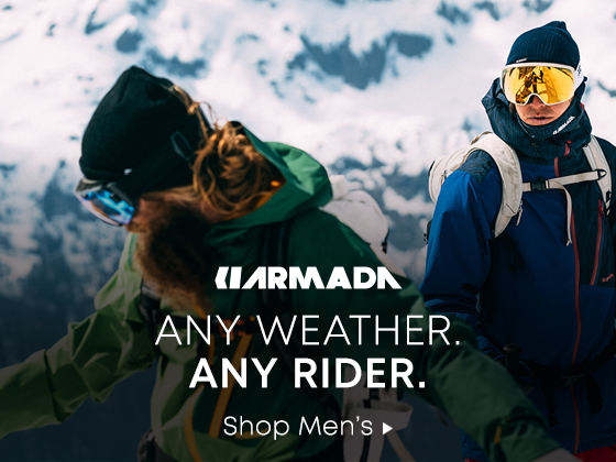 Armada Any Weather. Any Rider. Shop Mens