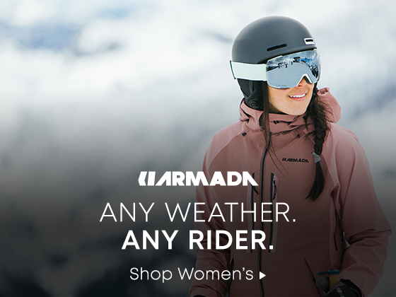 Armada Any Weather. Any Rider. Shop Womens