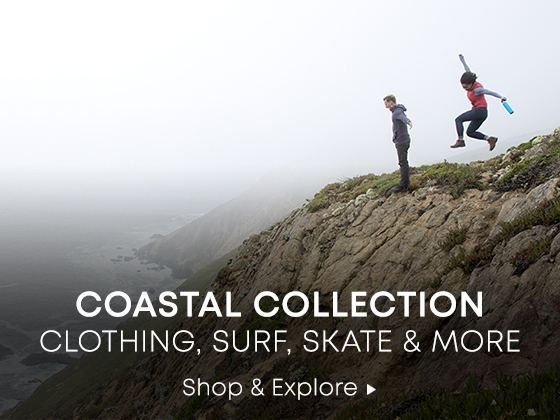 Coastal Collection. Clothing, Surf, Skate, and More. Shop and Explore.
