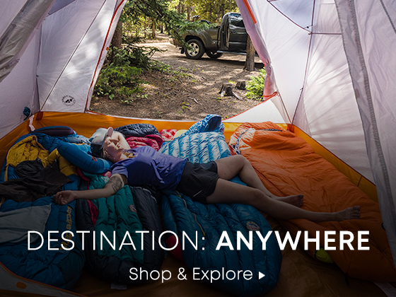 Destination, Anywhere. Shop and Explore.