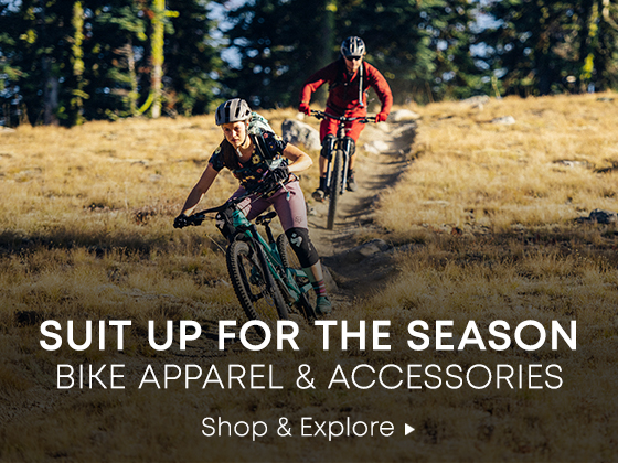 Suit Up for the Season. Bike Apparel and Accessories. Shop and Explore.