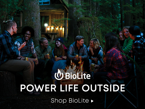 Power Life Outside. Shop Biolite.