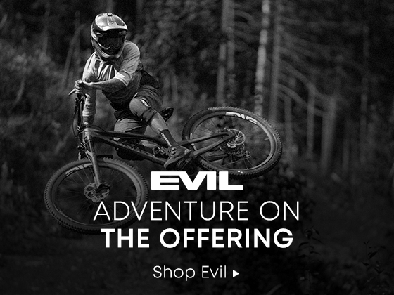 Evil. Adventure on The Offering. Shop Evil.