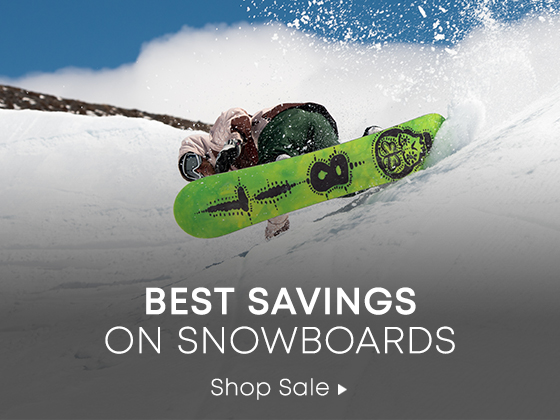 Best Savings on Snowboards. Shop Sale.