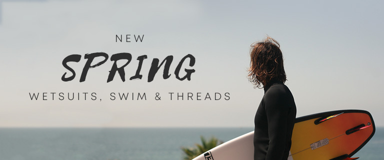 New Spring Wetsuits, Swim and Threads.