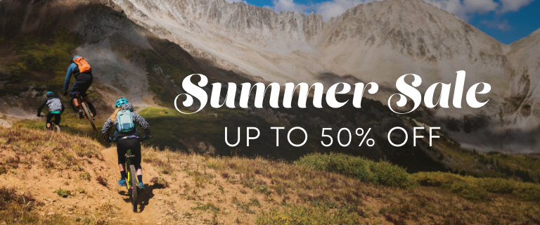 Summer Sale. Up to 50 Percent Off.