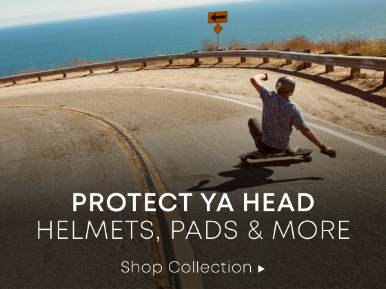 Protect Ya Head. Helmets, Pads & More. Shop Collection.