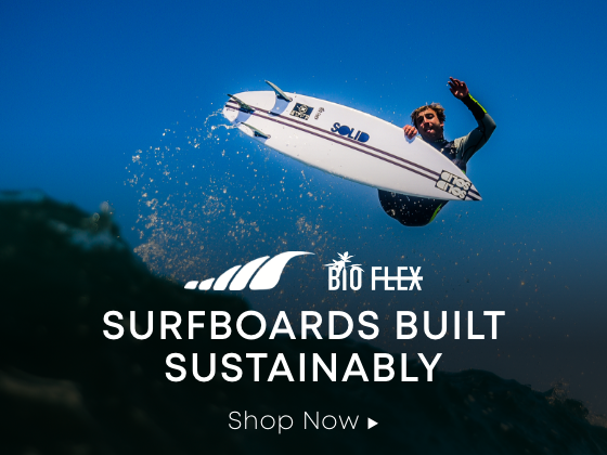 Surfboards Built Sustainably. Shop Now.