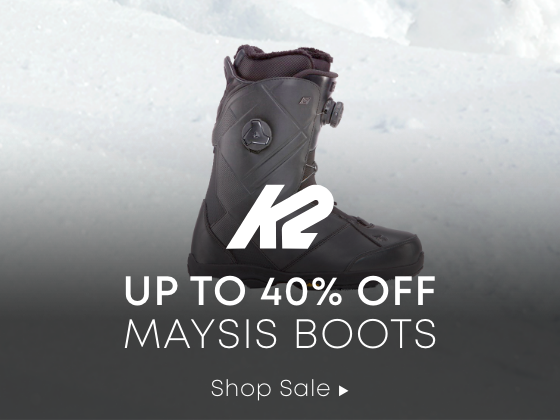 Up to 40% Maysis Boots.