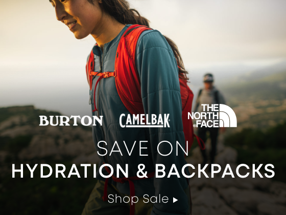 Save on Hydration and Backpacks. Shop Sale.