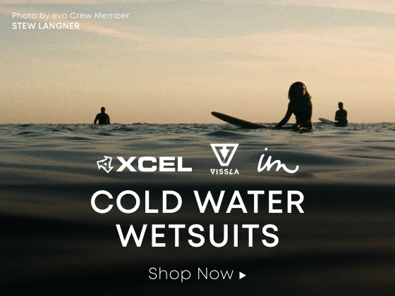 Xcel. Vissla. Imperial Motion. Cold Water Wetsuits. Shop Now.