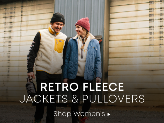 Retro Fleece. Jackets and Pullovers. Shop Women's.