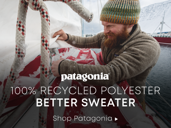 Patagonia. 100% Recycled Polyester. Better Sweater. Shop Patagonia.