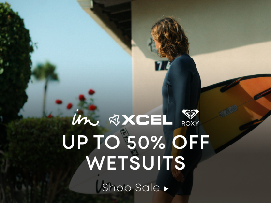 Xcel. Imperial Motion. Roxy. Up to 40% Off Wetsuits. Shop Sale.