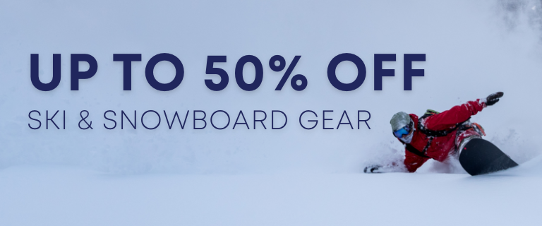 Forecasting Heavy Snow and Failling Prices. Up to 50 Percent Off Ski and Snowboard Gear.