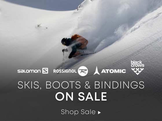 Skis, Boots, and Bindings on sale. Shop Sale