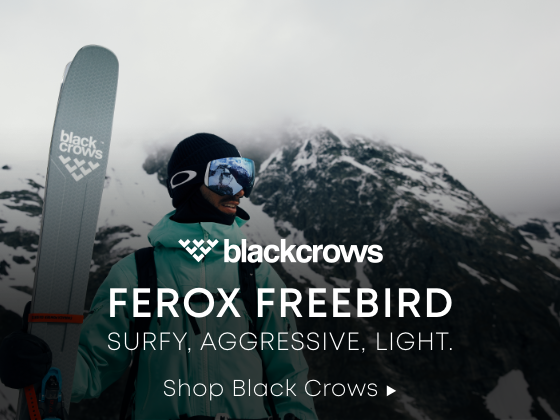 The All New Ferox Freebird. Shop Black Crows.