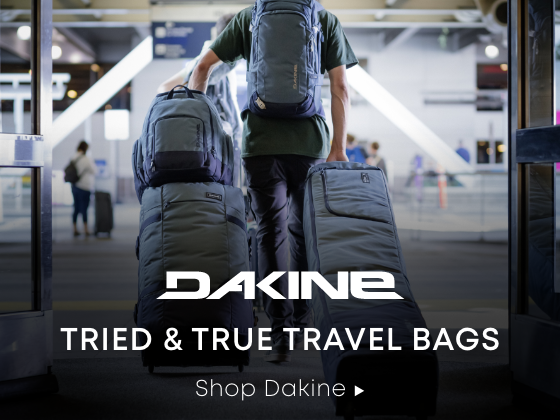 Tried & True Travel Bags. Shop Dakine.