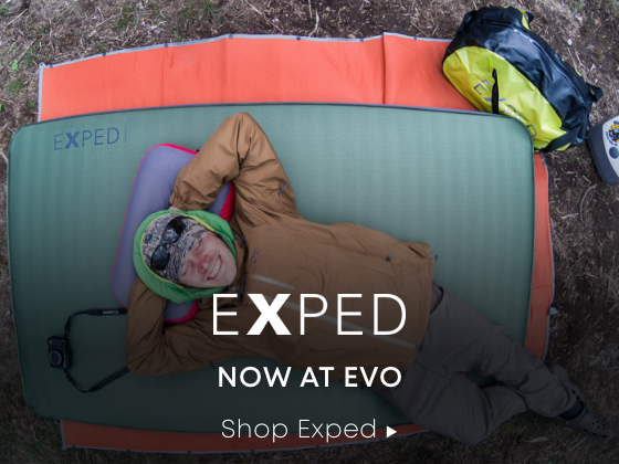Now at evo. Shop Exped.