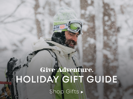 Give Adventure. Holiday Gift Guide. Shop Gifts.