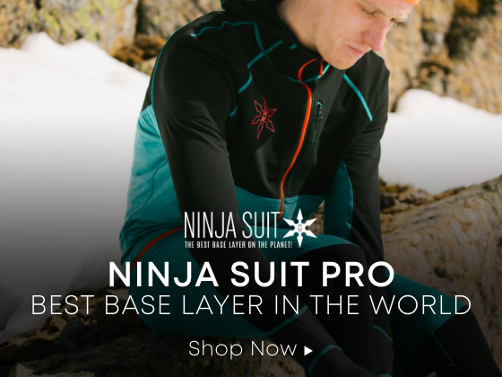Ninja Suit Pro. Best Base Layer in the World. Shop Now.