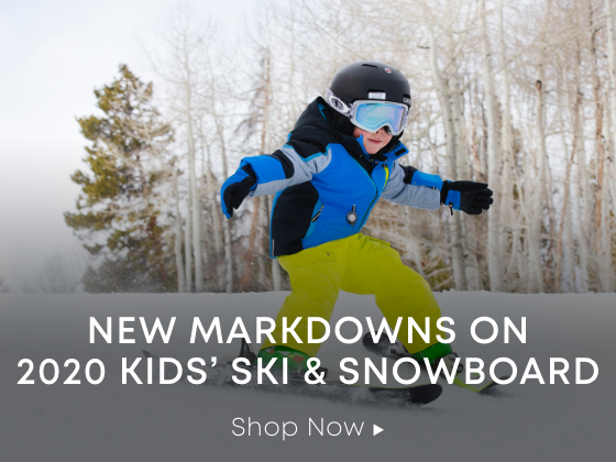 New Markdowns on 2020 Kids Ski and Snowboard. Shop Now.