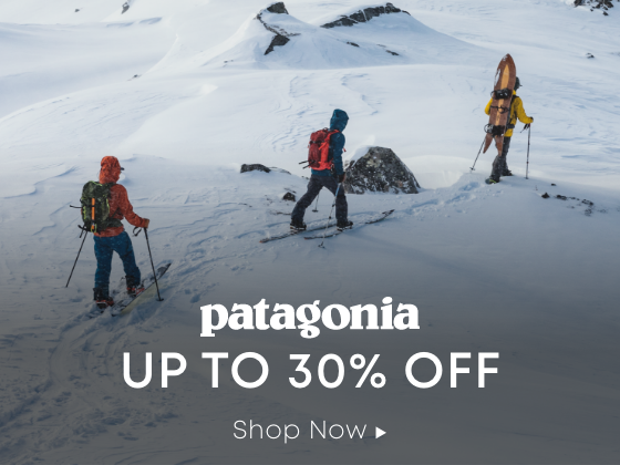 Patagonia. Up to 30 Percent Off. Shop Now.