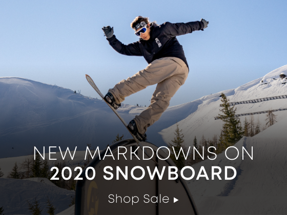 New Markdowns on 2020 Snowboard
