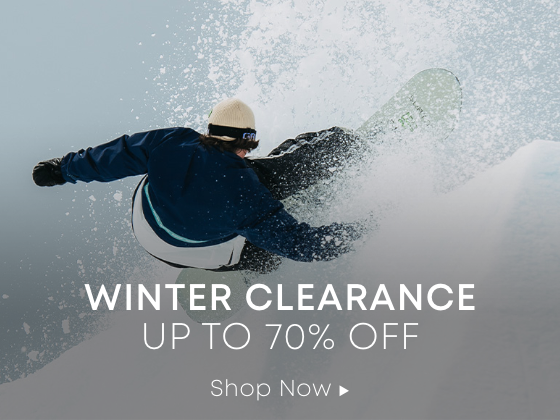 Winter Clearance. Up to 70 Percent Off.