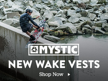 Mystic. New wake vests. Shop Now.