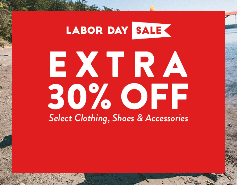 Extra 30% Off Select Clothing, Shoes & Accessories!