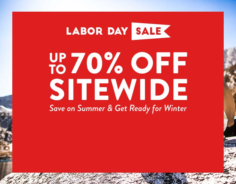 Labor Day Sale - Up to 70% Off Sitewide!