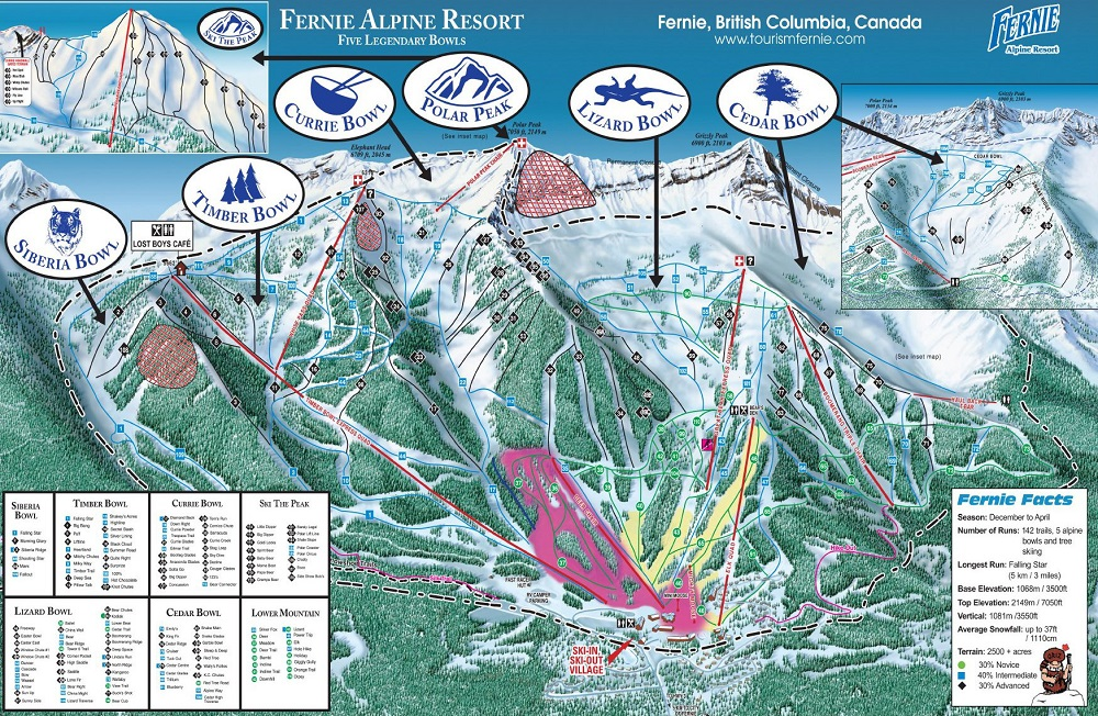 Fernie Skiing & Snowboarding Resort Guide | evo