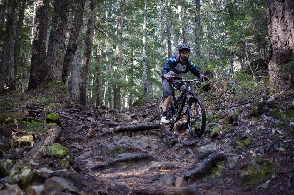 Mountain biking at Kachess Ridge
