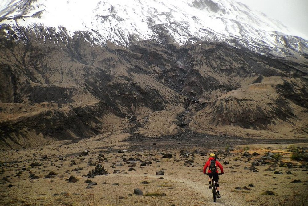 Mt Rainier Amp Mt St Helens Mountain Bike Trail Guide Evo