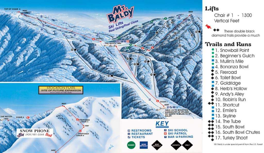 Mt. Baldy Ski and Snowboard Area