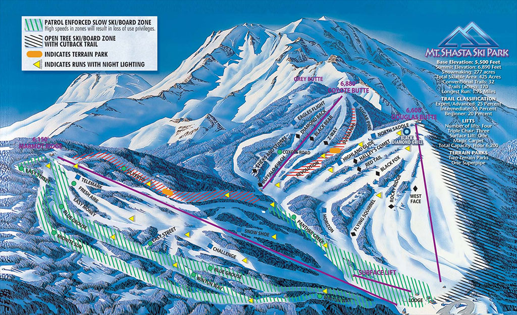 The Best Ski Snowboard Resorts In California Evo