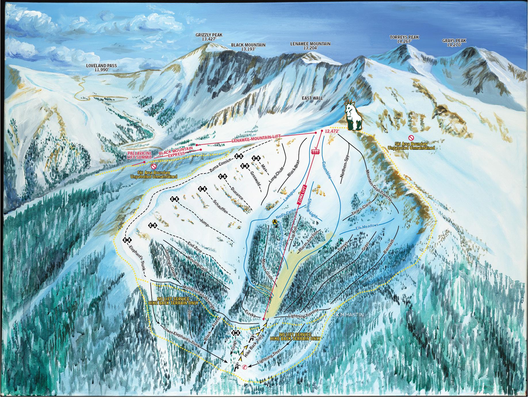 arapahoe basin skiing & snowboarding resort guide | evo