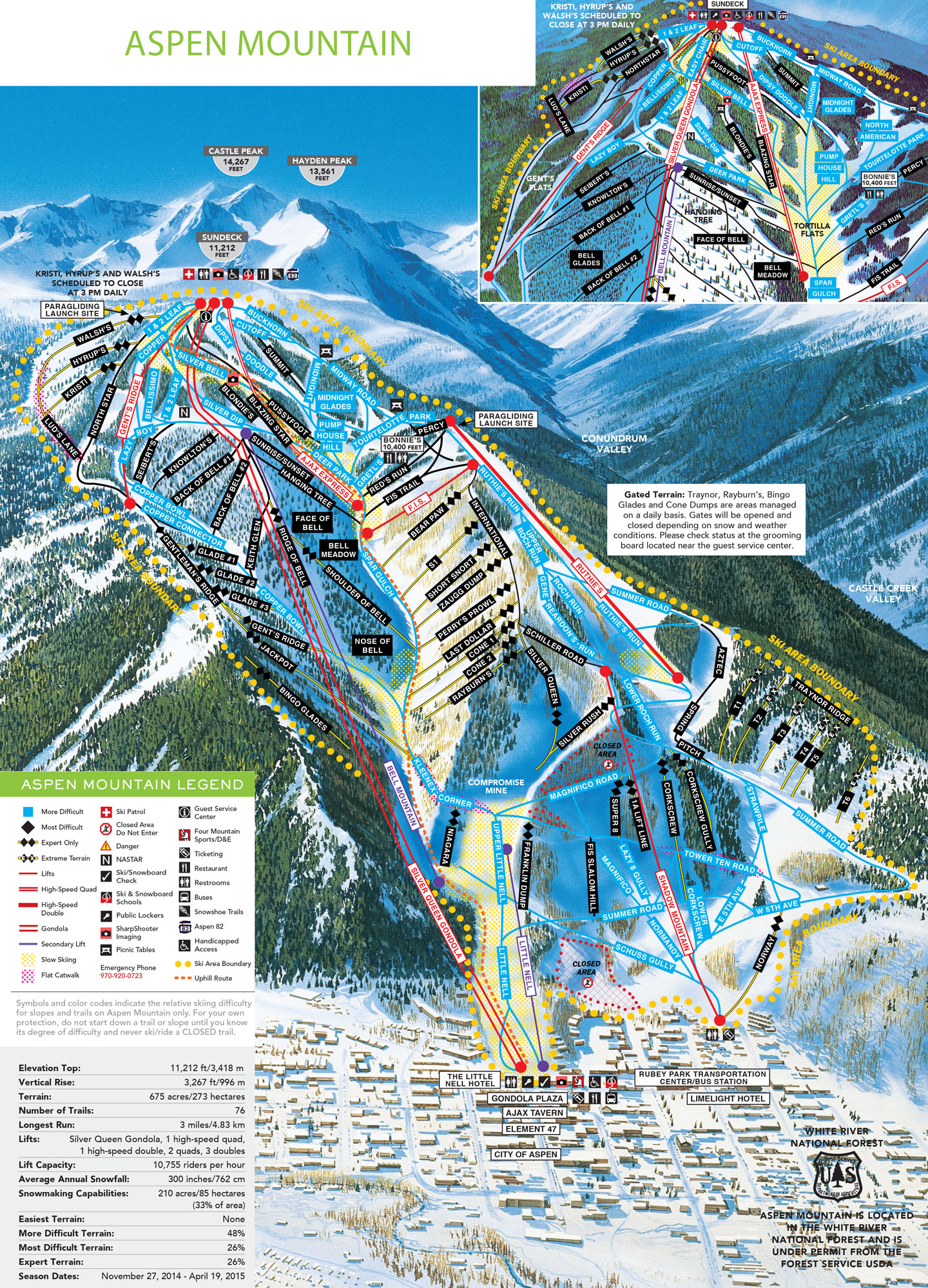 Aspen Snowm Skiing & Snowboarding Resort Guide   evo on map of all colorado golf courses, map of all colorado counties, map of buttermilk ski area, map of all colorado cities and towns, map of beaver creek ski resort trail,