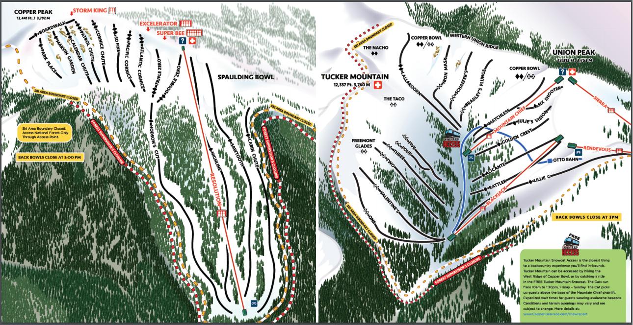 Copper Mountain Skiing & Snowboarding Resort Guide | evo on